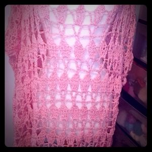 Crochet beach cover up by me
